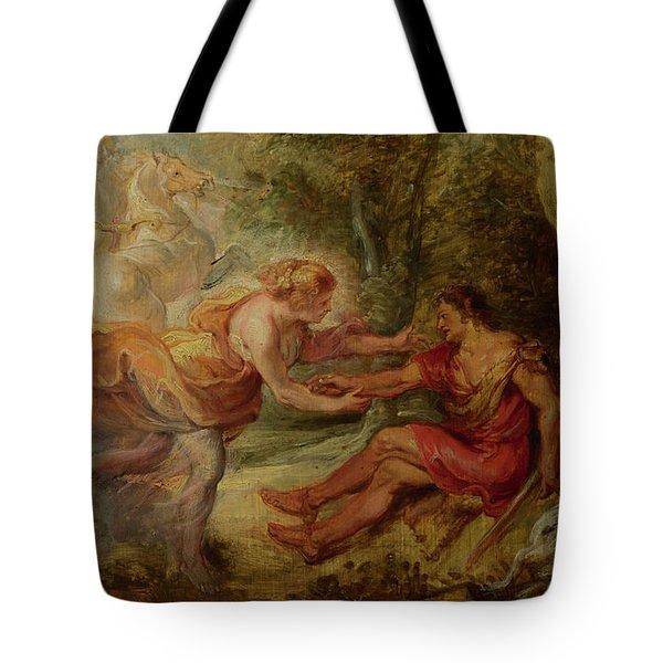 Aurora Abducting Cephalus Tote Bag