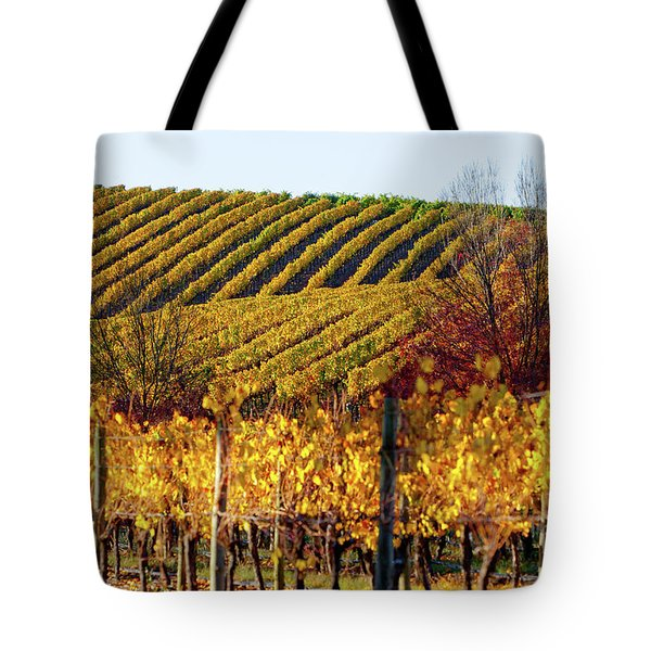 Autumn Vines Tote Bag by Bill Robinson