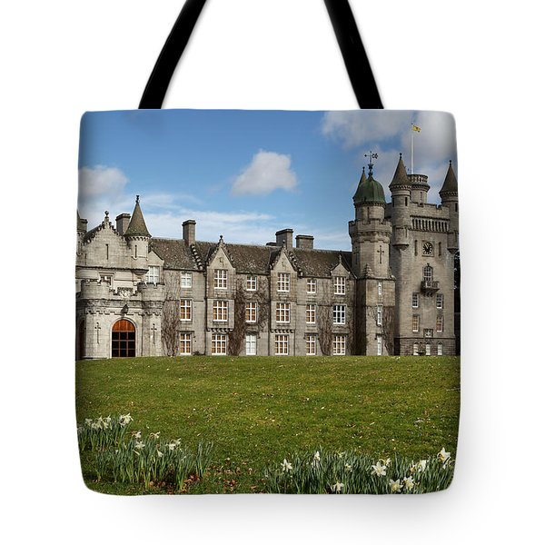 Balmoral Castle Tote Bag