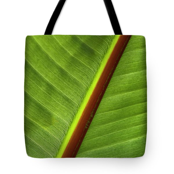 Banana Leaf Tote Bag by Heiko Koehrer-Wagner