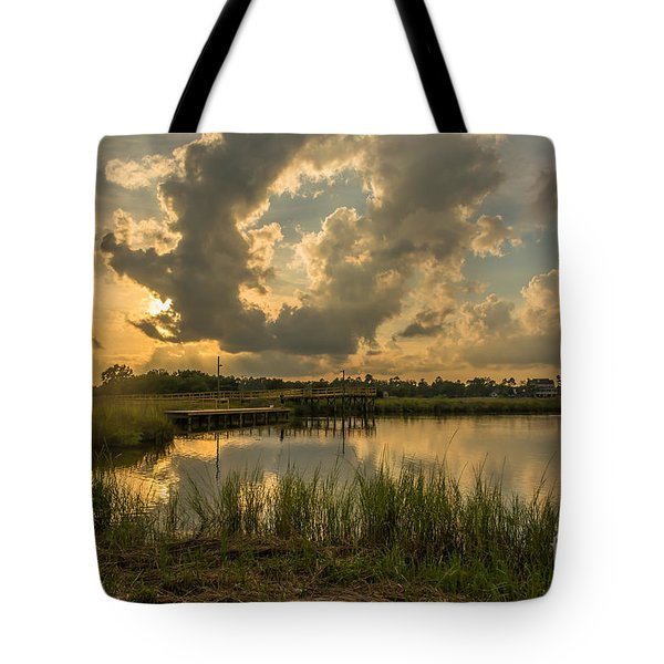 Bayou Sunset Tote Bag by Brian Wright