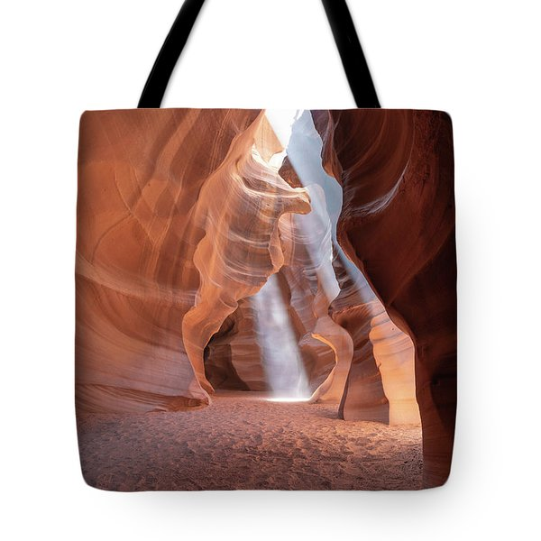 Tote Bag featuring the photograph 3 Beams by T A Davies