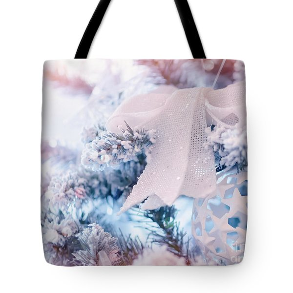 Beautiful Christmas Decoration Tote Bag