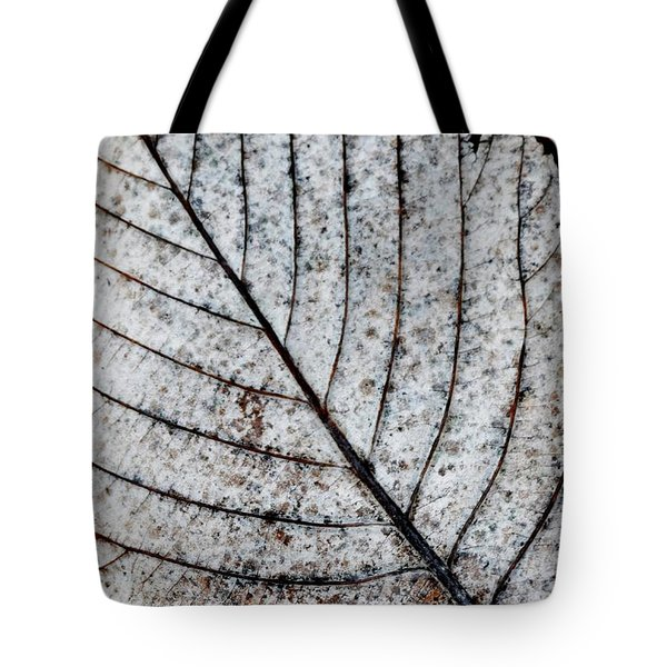 Beautiful Winter Leaf Tote Bag