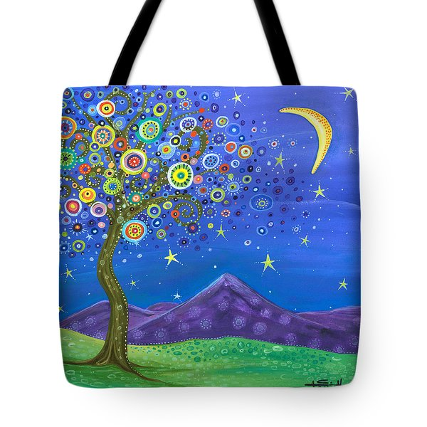 Tote Bag featuring the painting Believe In Your Dreams by Tanielle Childers