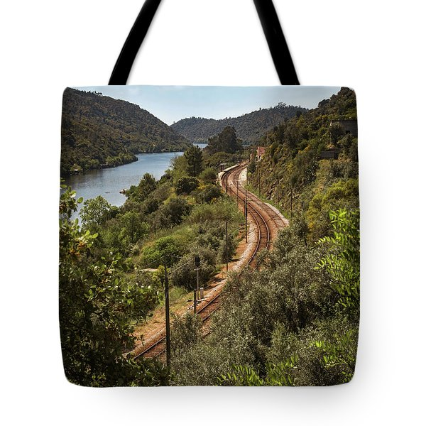 Tote Bag featuring the photograph Belver Landscape by Carlos Caetano