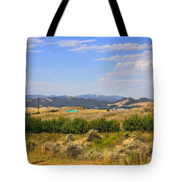 Big Sky Country Tote Bag by Chris Smith
