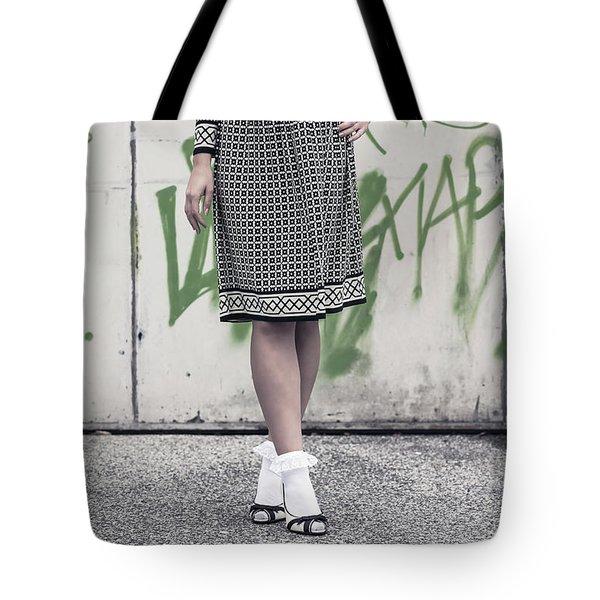 Black And White Tote Bag by Joana Kruse
