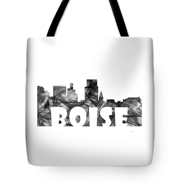 Boise Idaho Skyline Tote Bag