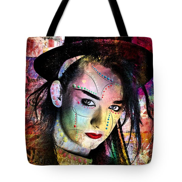 boy George  Tote Bag