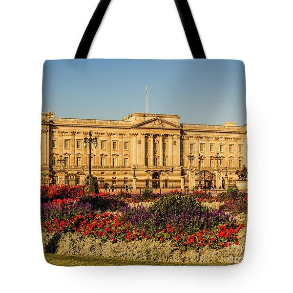 Buckingham Palace, London, Uk. Tote Bag