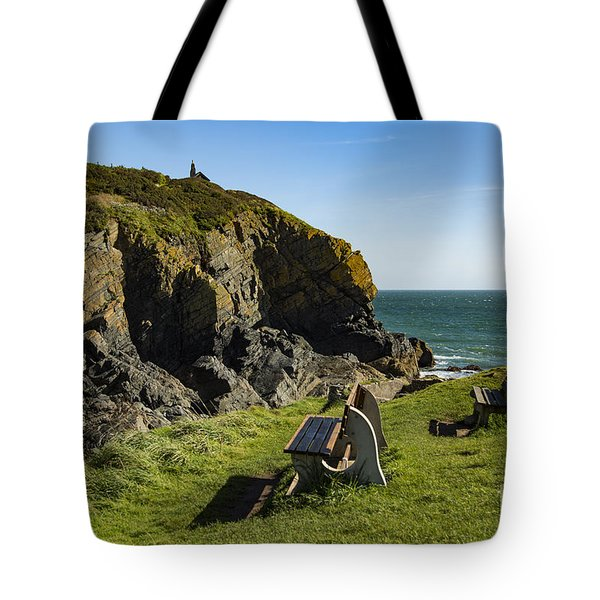 Tote Bag featuring the photograph Cadgwith Cove by Brian Roscorla