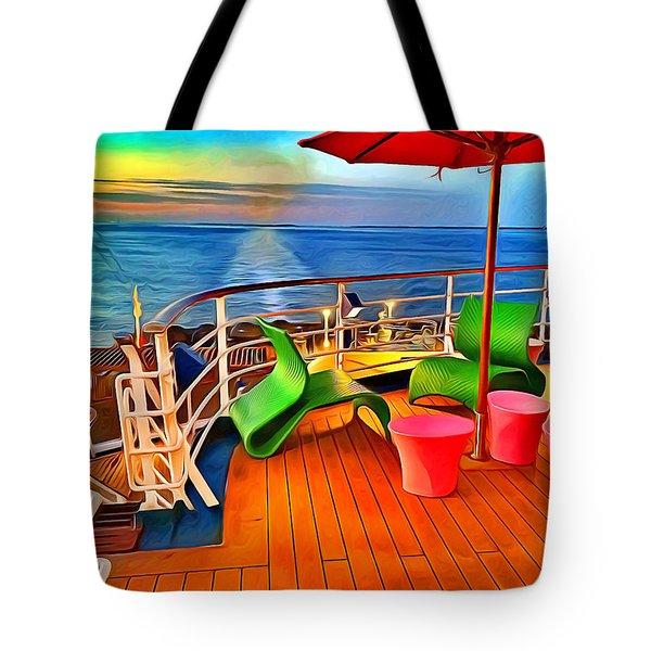 Carnival Pride Deck Tote Bag