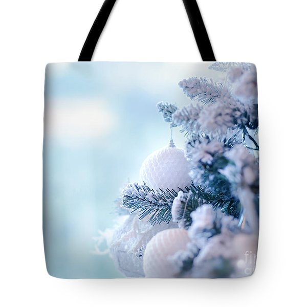 Christmas Tree Border Tote Bag