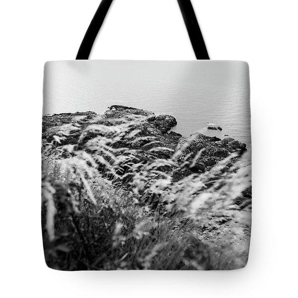 Cliffs At Kullaberg Tote Bag