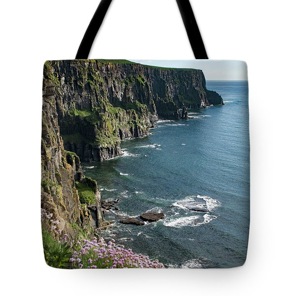 Cliffs Of Moher, Clare, Ireland Tote Bag