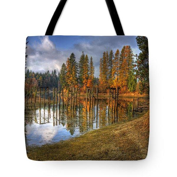 Cocolala Creek Slough Tote Bag