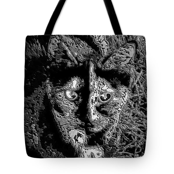 Coconut The Cat Tote Bag