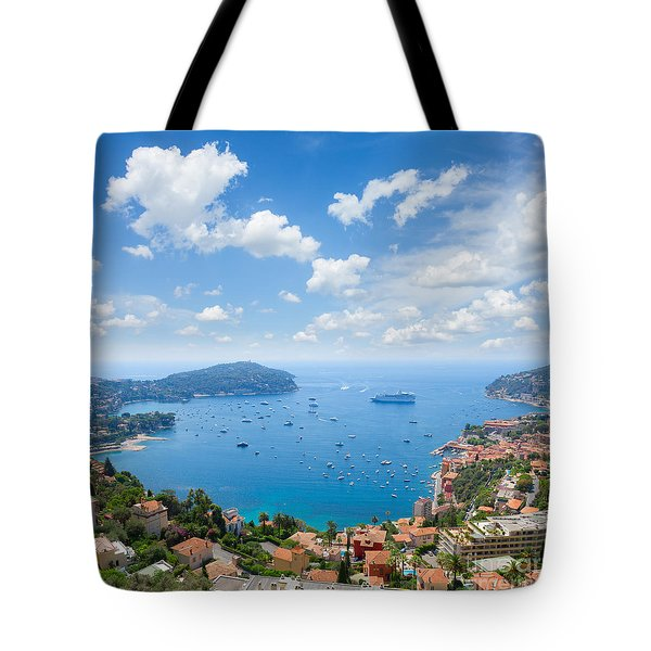 cote dAzur, France Tote Bag by Anastasy Yarmolovich