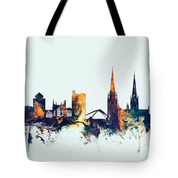 Coventry England Skyline Tote Bag