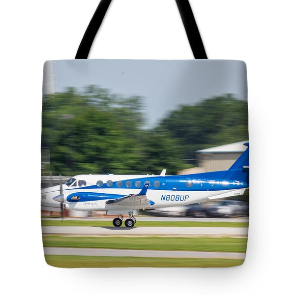 Cracker Fly-in Tote Bag by Michael Sussman