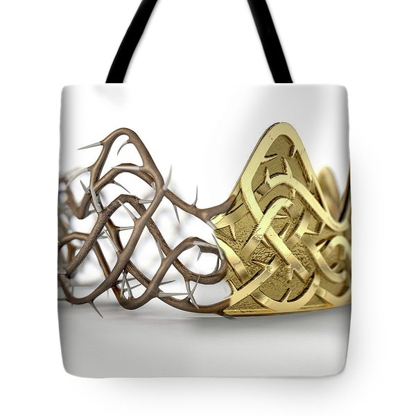 Crown Of Thorns Concept Tote Bag