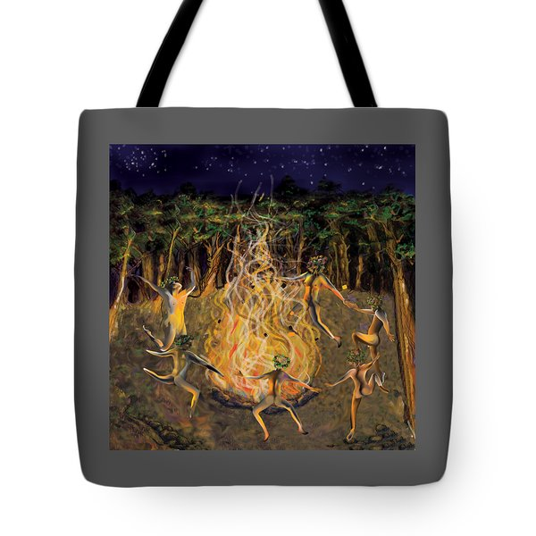 Dancing Naked Cd Cover  Tote Bag