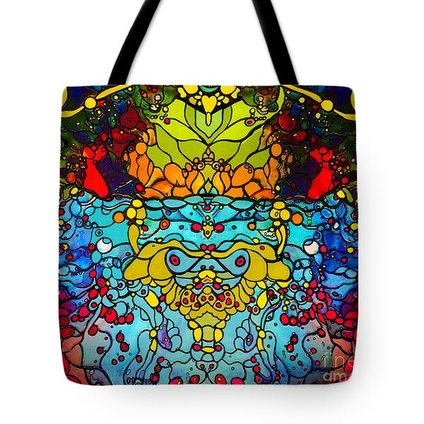 Ethereal Precision  Tote Bag