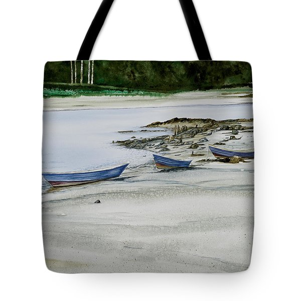 3 Dories Kennebunkport Tote Bag