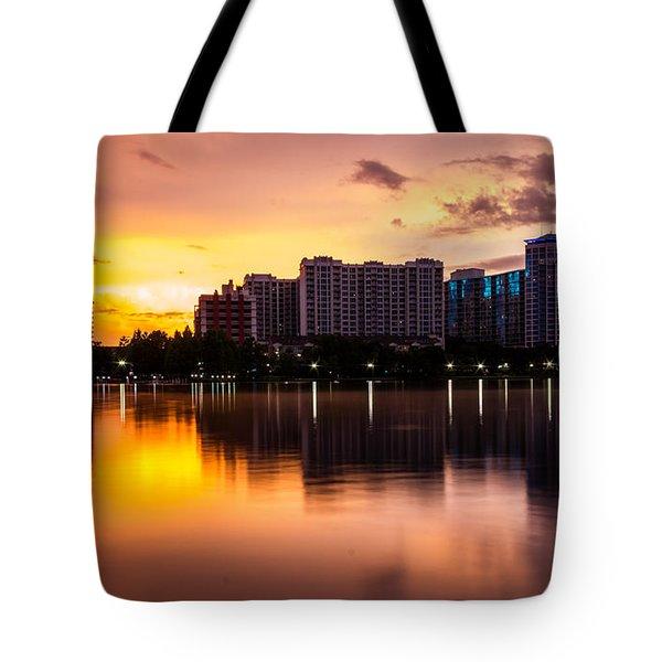 Downtown Orlando Tote Bag
