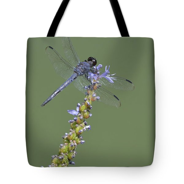 Dragon Fly Tote Bag by Linda Geiger