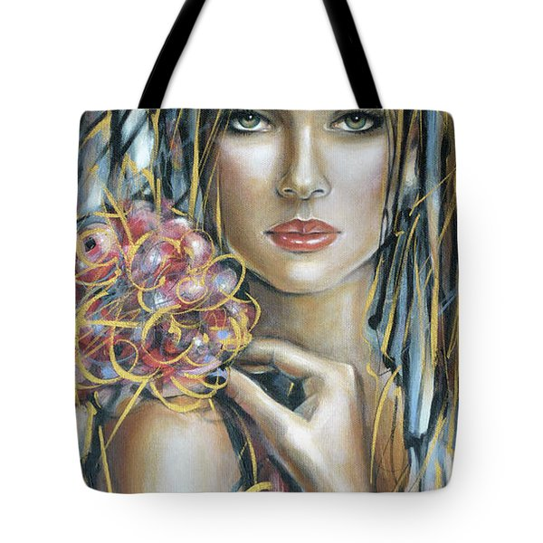 Drama Queen 301109 Tote Bag by Selena Boron