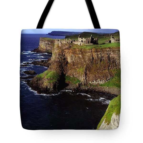 Dunluce Castle, Co. Antrim, Ireland Tote Bag by The Irish Image Collection
