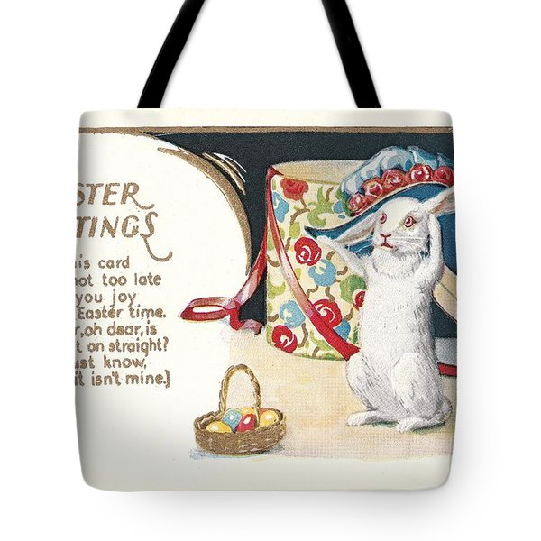 Easter Greetings Tote Bag