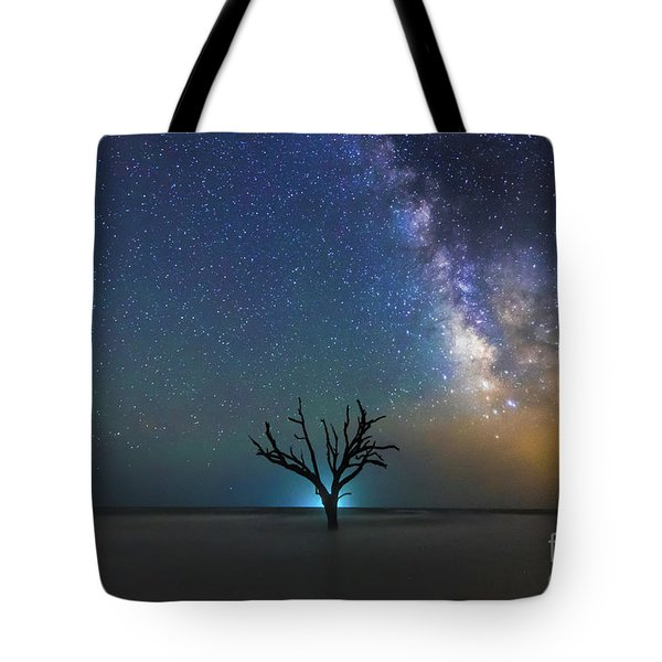 Edisto Island Milky Way Tote Bag