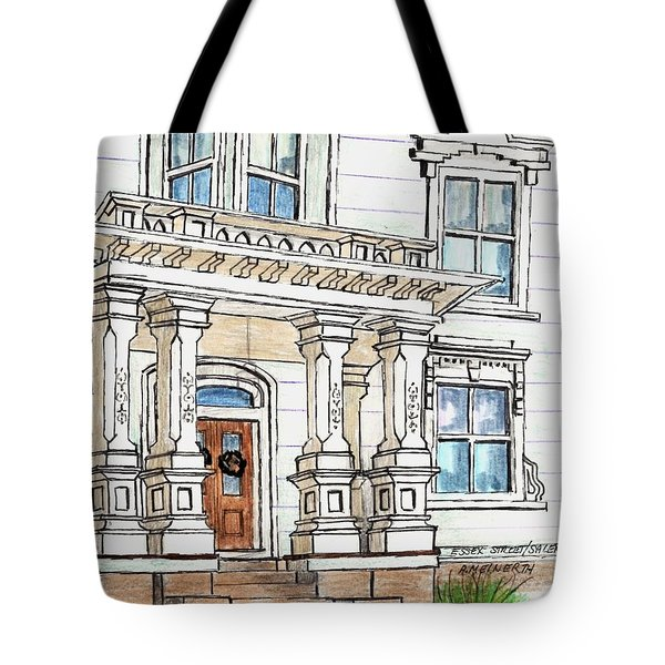 Essex Street Front Door Tote Bag