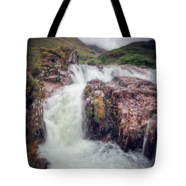 Falls Of Glencoe Tote Bag
