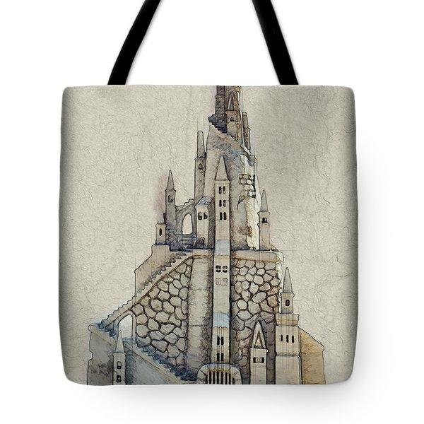 Fantasy Castle Tote Bag