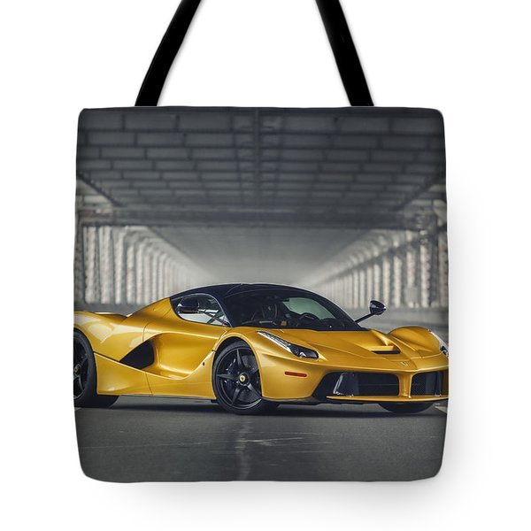 #ferrari #laferrari  Tote Bag