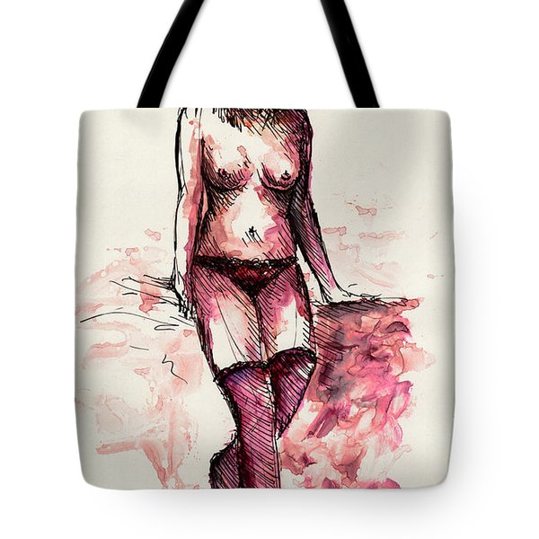 Figure Study Tote Bag by Rachel Christine Nowicki