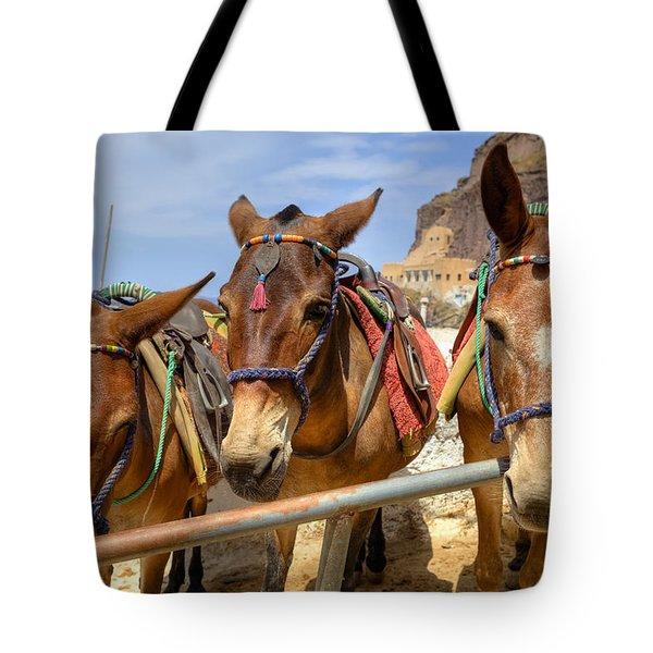 Fira - Santorini Tote Bag