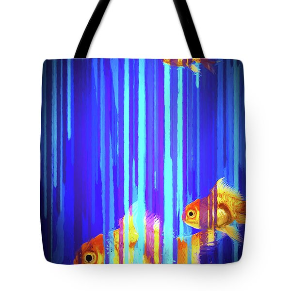 3 Fish Tote Bag by James Bethanis