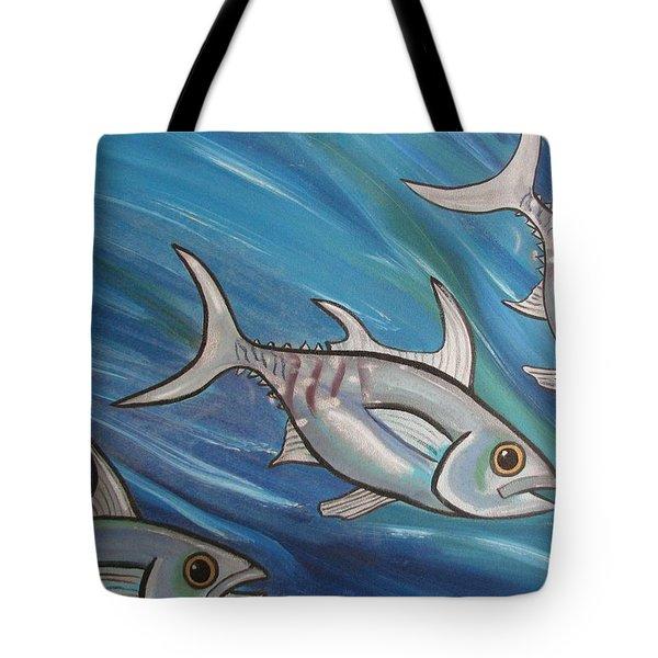 3 Fish Tote Bag