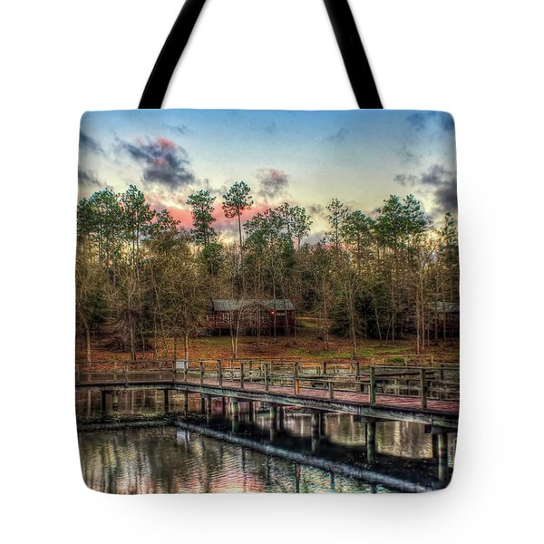 Flint Creek Tote Bag by Maddalena McDonald