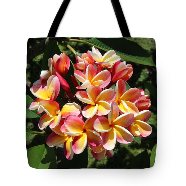 Flowers Tote Bag by Anthony Jones