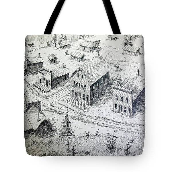 Garnet Ghost Town Montana Tote Bag by Kevin Heaney