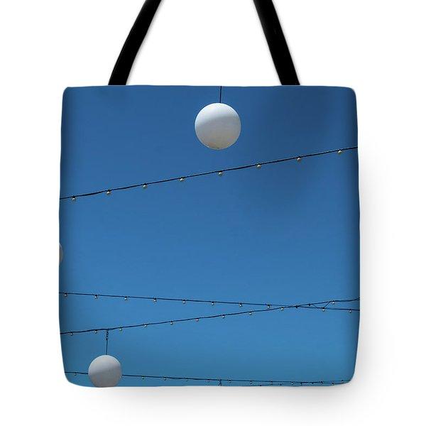 3 Globes Tote Bag