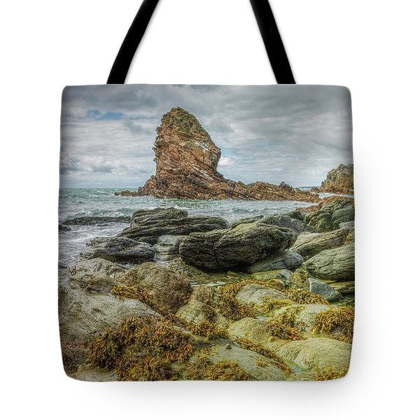 Tote Bag featuring the photograph Gwenfaens Pillar by Ian Mitchell