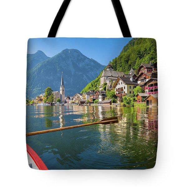 Hallstatt Tote Bag by JR Photography
