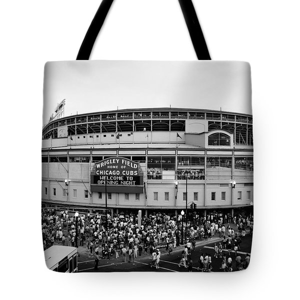 High Angle View Of Tourists Tote Bag by Panoramic Images
